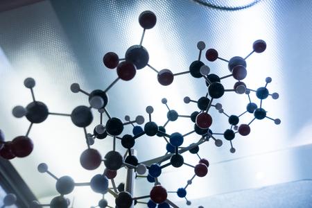 trabajo en equipo: Estructura Ciencia Mol�cula de ADN Modelo, trabajo en equipo concepto de negocio