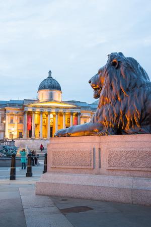 trafalgar: Trafalgar square, London