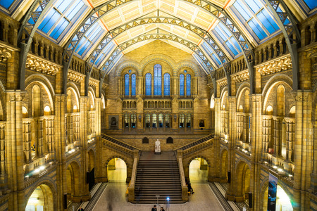 natural arch: Natural History Museum, London Editorial