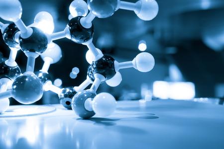 dna laboratory: DNA molecule test in lab