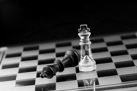 business strategy: chess business strategy success Stock Photo