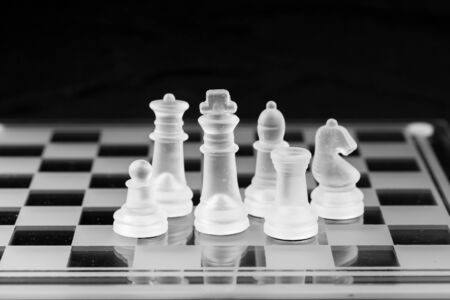 teamleader: chess business strategy success Stock Photo