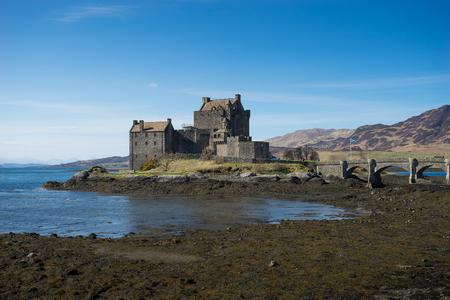 skye: Eilean Donan Castle, scotland, Isle, of, skye Editorial