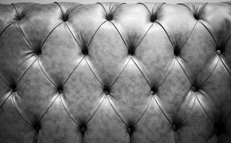 chambered: Black Genuine leather  sofa abstract background