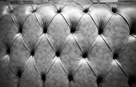 genuine leather: Black Genuine leather  sofa abstract background