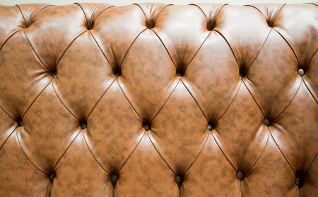 chambered: Genuine leather  sofa abstract background