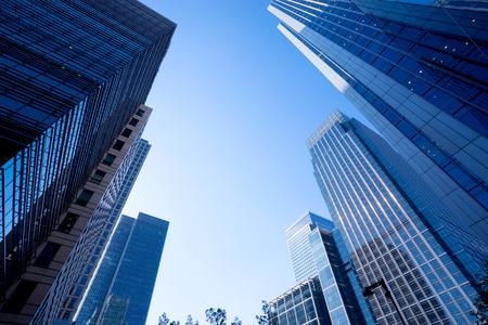 business: Londres edifício comercial de escritório Banco de Imagens