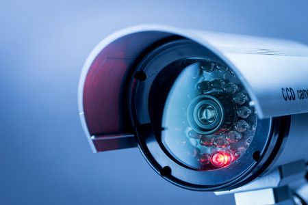 Security CCTV camera in office building Imagens - 41840198