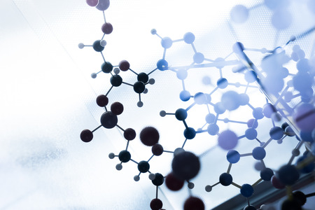 dna: Science Molecule DNA Model Structure, business teamwork concept