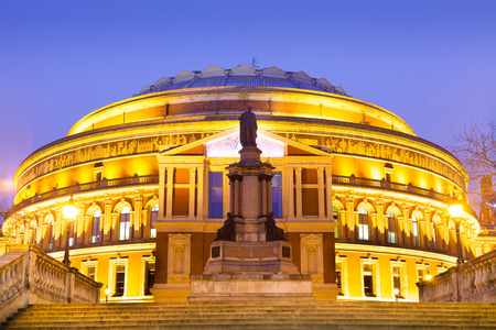 queen's theatre: The Royal Albert Hall, Opera theater, in London, England, UK Editorial