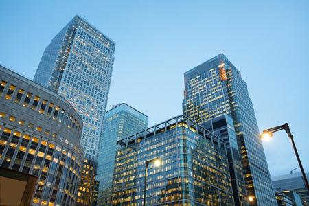 ロンドン シティ空港、イングランドを構築企業は、営業所 写真素材