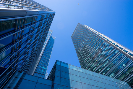 Bürogebäude in London, England Standard-Bild - 42669968