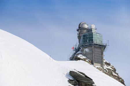 jungfraujoch: Swiss mountain, Jungfrau, Switzerland, ski resort Editorial