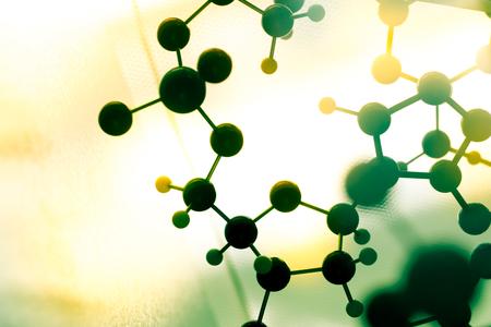 biologia: ADN, mol�cula en la prueba de laboratorio de laboratorio