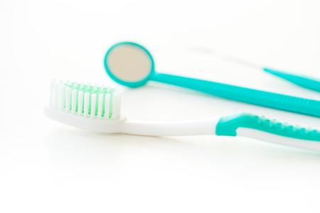 dental surgeon: toothbrush set for dental care