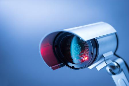 Cámaras de seguridad CCTV en edificio de oficinas Foto de archivo - 43143114