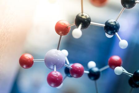 química: ADN, molécula, química, en prueba de laboratorio de laboratorio Foto de archivo