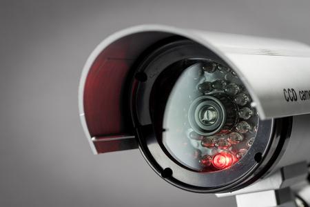 Cámaras de seguridad CCTV en edificio de oficinas Foto de archivo - 43143499