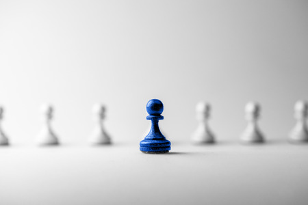 Schaken business concept, leider & succes Stockfoto - 43429334
