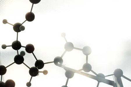 molecula: ADN, mol�cula, qu�mica, en prueba de laboratorio de laboratorio Foto de archivo
