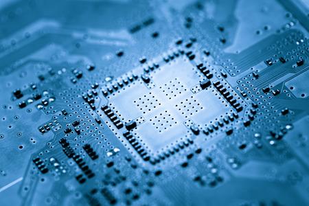 input device: Computer circuit board, web design background Stock Photo