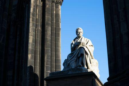 scott: Walter Scotts monument. Edinburgh. Scotland. UK.