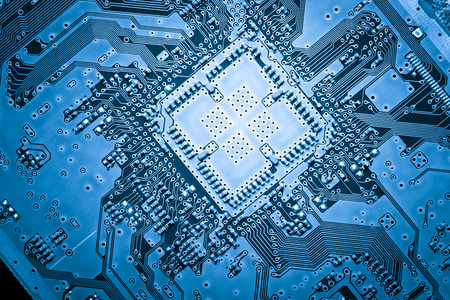 Computer circuit board, web design background Stock Photo