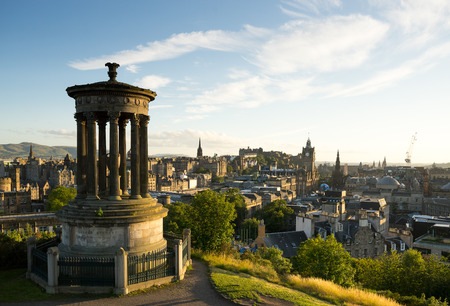 scot: Edinburgh city, Scoltland, UK Stock Photo