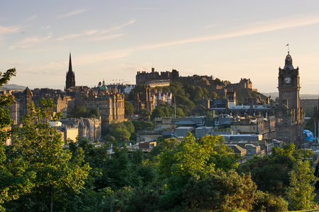 uk: Edinburgh city, Scoltland, UK Stock Photo