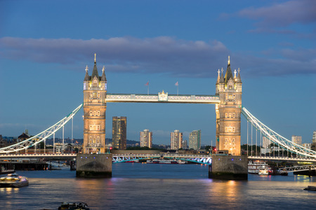 uk: Tower Bridge, London, England, UK, Stock Photo