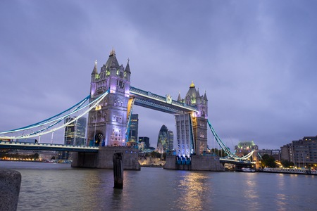 uk: Tower Bridge, London, England, UK