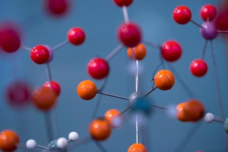 molecule structure: DNA molecule lab test