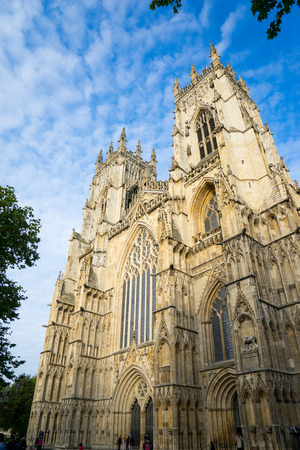 york minster: York minster, England, UK Stock Photo
