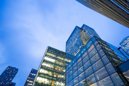 Zakelijke kantoorgebouw in Londen, Engeland, Verenigd Koninkrijk