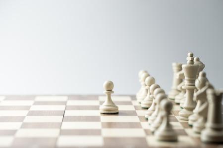 Szachy rysunek, strategii biznesowej koncepcji, przywództwo, zespół i sukces