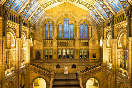 impotent: Natural History Museum in London, England Editorial