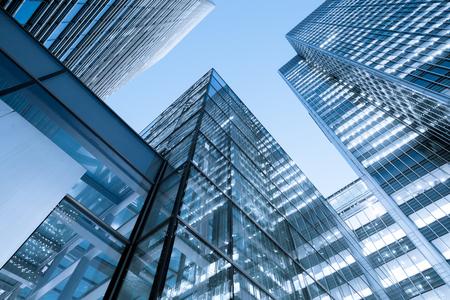 Windows of Skyscraper Business Office, Bâtiment d'entreprise à London City, Angleterre, Royaume-Uni