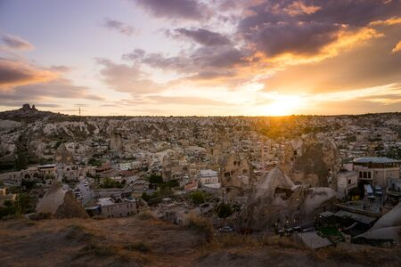 landscape mode: Cappadocia mountain Turkey