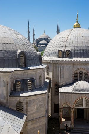 blue mosque: sultan ahmed blue mosque, Istanbul Turkey