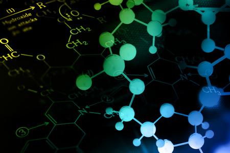 molecular biology: DNA, Molecule, Chemistry in laboratory lab test