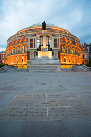 queen's theatre: Royal Albert Hall Opera house, London, UK