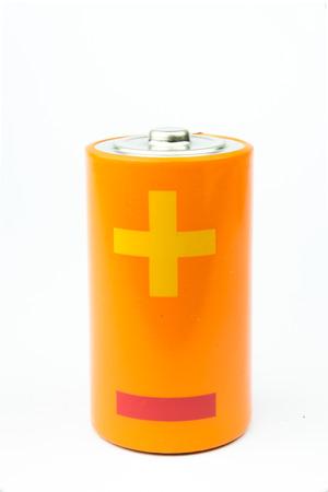 aa: AA Battery on white background
