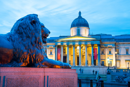 uk: Trafalgar Square, London, UK