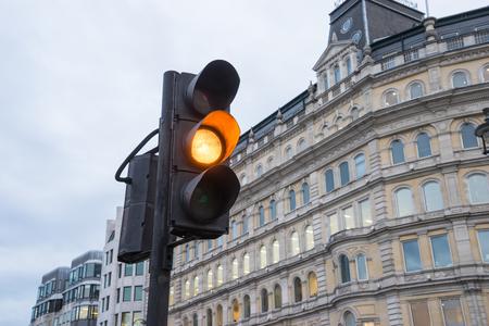 semaforo rojo: tráfico, luz, Londres, Reino Unido