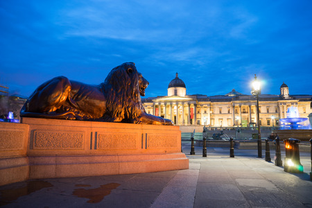 uk: Trafalgar Square, London, UK