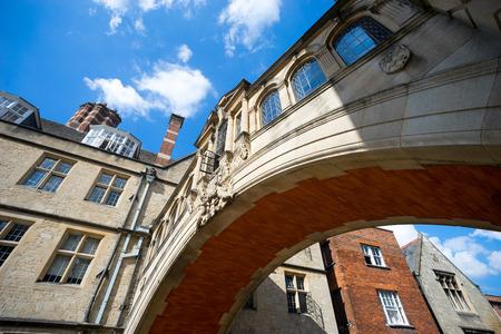 oxford: bridge of sighs, university of Oxford, UK