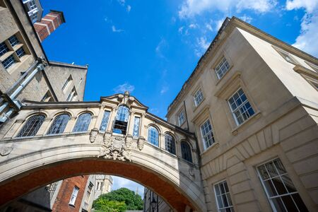 bridge of sighs, university of Oxford, UK