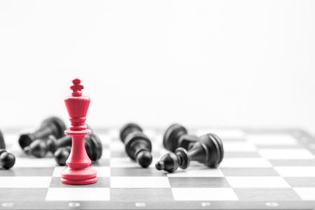 Chess business concept, leader & success Stock fotó