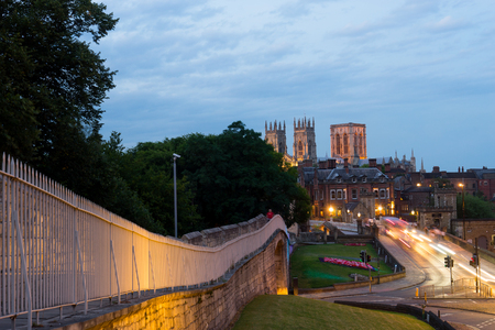 minster: York city & York minster, England UK