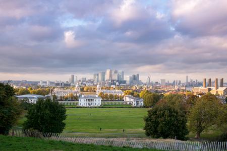 greenwich: Londons National Maritime Museum & Canary Wharf, Greenwich, London Editorial